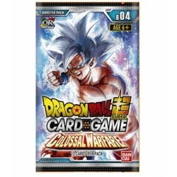 Dragon Ball Super Card Game Colossal Warfare Card Box English