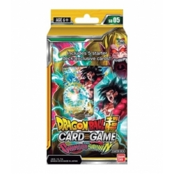 Dragon Ball Super Card Game Starter Deck Display The Crimson Saiyan English