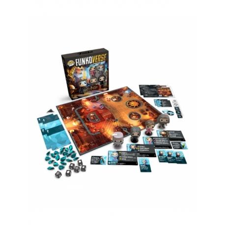 POP! Funkoverse Strategy Game - Harry Potter 102 4 figuras Funko en Inglés