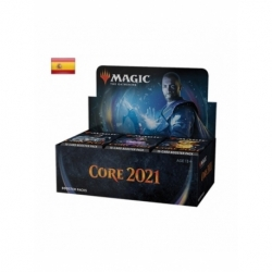 Draft Booster Display (36 Booster) Core 2021 Spanish - Magic the Gathering cards