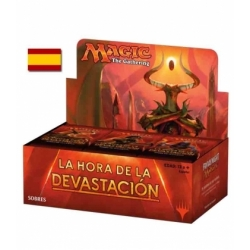 Caja de sobres La Hora de la Devastación Español - cartas Magic the Gathering