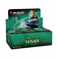 English War of the Spark booster boxes - Magic the Gathering cards