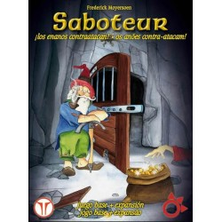 Saboteur Deluxe Basic + Expansion