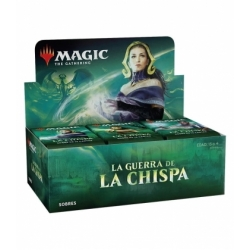Spanish War of the Spark booster box - Magic the Gathering cards