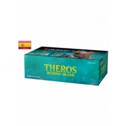 Theros Beyond Death Spanish booster box - Magic the Gathering cards