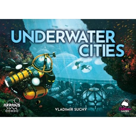 Juego de mesa Underwater Cities de la marca Arrakis Games