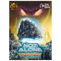 Sanctuary expansion for the board game Not Alone from Guerra de Mitos