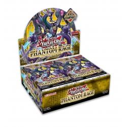 Caja de sobres Ira Fantasma cartas para juego Yu-Gi-Oh de Konami