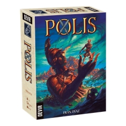 Polis Resource Management Board Game from Devir