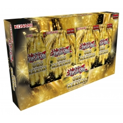 Caja de sobres Oro Máximo del juego de cartas Yu-Gi-Oh de Konami