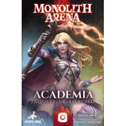 Academy expansion for the board game Monolith Arena by Maldito Games