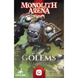 Golems expansion for the board game Monolith Arena by Maldito Games