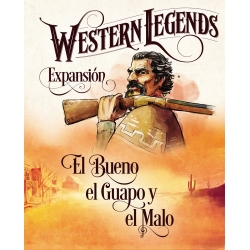 Expansion The Good, the Handsome and the Bad from the board game Western Legends from Maldito Games
