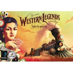 Expansion Ante Up from the board game Western Legends from Maldito Games