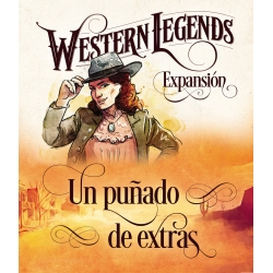 Expansion Fist Full of Extras from the board game Western Legends from Maldito Games