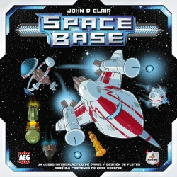 Space base is an intergalactic dice game and fleet management for 2-5 space base captains