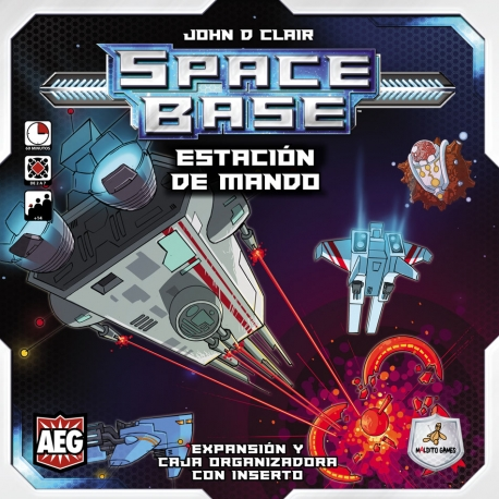 Expansión Estación de Mando del juego Space Base de Maldito Games