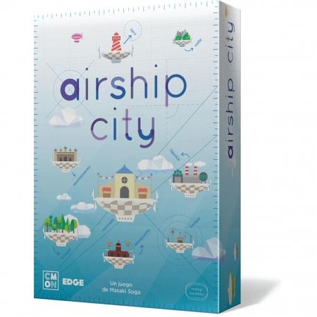 Conviértete en un ingeniero de altos vuelos en el juego de mesa Airship City de Cool Mini or Not