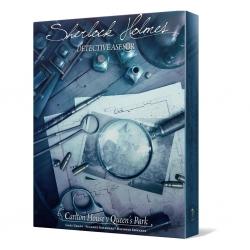 Juego de mesa cooperativo Sherlock Holmes: Carlton House & Queen's park de Space Cowboys