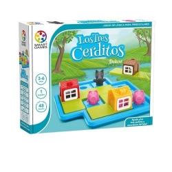 Juego de mesa educativo Los Tres Cerditos Deluxe de Smart Games