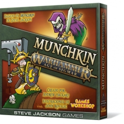 Munchkin Age of Sigmar card game from Games Workshop