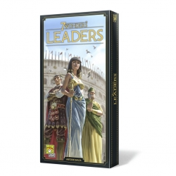 Leaders expansion of the board game 7 Wonders new edition of Repos Production