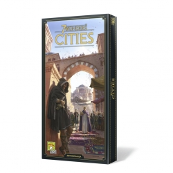 Cities expansion of the board game 7 Wonders new edition of Repos Production