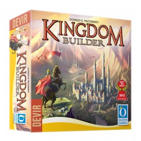 Juego de mesa de estrategia Kingdom Builder de Devir