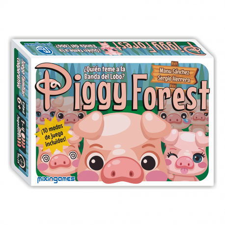 Piggy Forest family card game from Mixingames