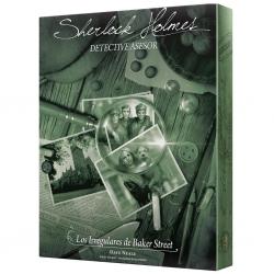 Juego de mesa cooperativo Sherlock Holmes: Los Irregulares de Baker Street de Space Cowboys