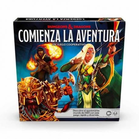 Juego de mesa Dungeons & Dragons Comienza la aventura de Hasbro
