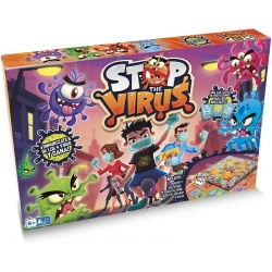 Juego de mesa familiar Stop the Virus de IMC Toys
