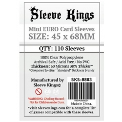 [8803] Sleeve Kings Mini Euro Card Sleeves (45x68mm)