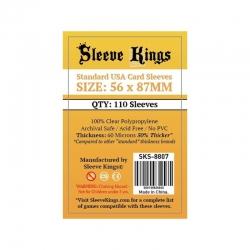 [8807] Sleeve Kings Standard USA Card Sleeves (56x87mm)
