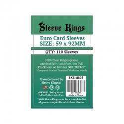 [8809] Sleeve Kings Euro Card Sleeves (59x92mm)