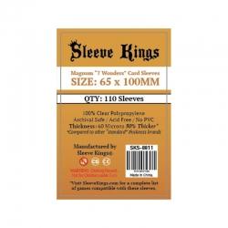 [8811] Sleeve Kings Magnum 7 Wonders Card Sleeves (65x100mm)