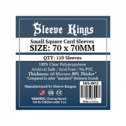 [8812] Sleeve Kings Small Square Card Sleeves (70x70mm)