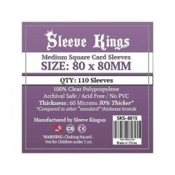 [8815] Sleeve Kings Medium Square Card Sleeves (80x80mm)
