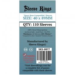 [8817] Sleeve Kings Space Base Compatible Sleeves (40x89mm)