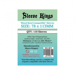 [8819] Sleeve Kings Blood Bowl Compatible Sleeves (78x113mm)