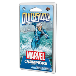 Quicksilver pack de Héroe para Marvel Champions Lcg de Fantasy Flight Games