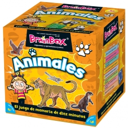 Juego de mesa educativo BrainBox Animales de Brain Box