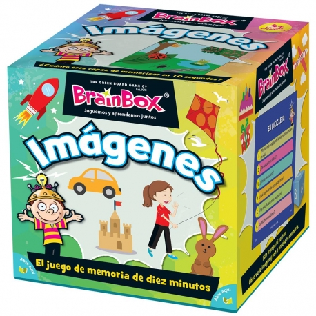 BrainBox Images board game from Brain Box