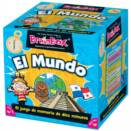 BrainBox memory board game The world of Brain Box