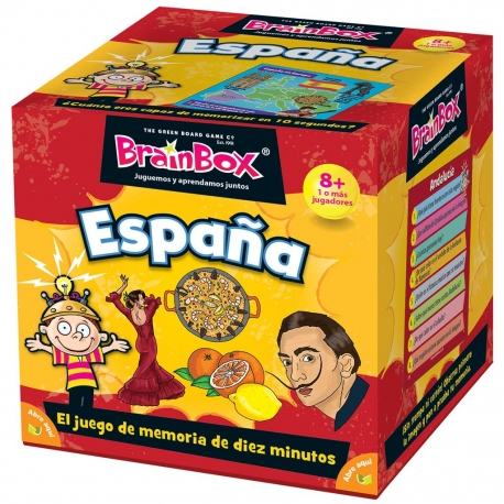 BrainBox Spain board game from Brain Box