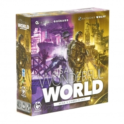 Rise and Corruption expansion for board game It's a Wonderful World by Tranjis Games