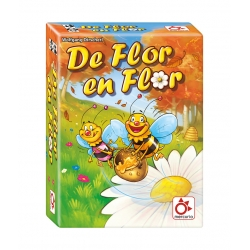 Children's board game De Flor en Flor from Mercurio Distribuciones