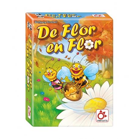 Juego de mesa infantil De Flor en Flor de Mercurio Distribuciones