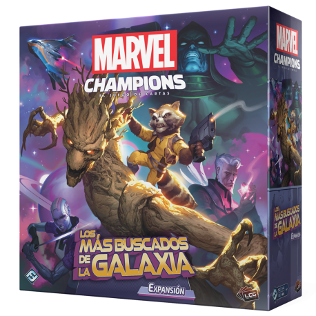 Expansion The Galaxy's Most Wanted for Marvel Champions Lcg by Fantasy Flight Games