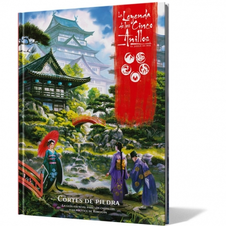 Stone cuts supplement for The Legend of the Five Rings RPG from Fantasy Flight Games